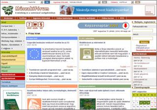 Műszaki fórum