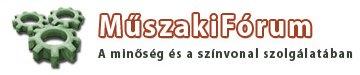 Műszakifórum logo